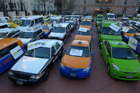 Uber under assault around the world as taxi drivers fight back