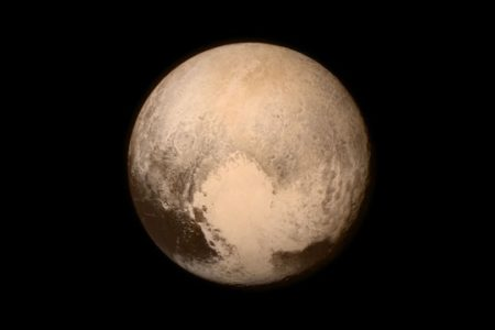 The clearest photo of Pluto