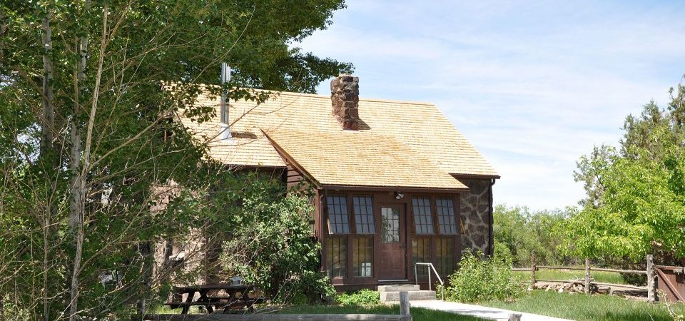 Residence at the refuge headquarters